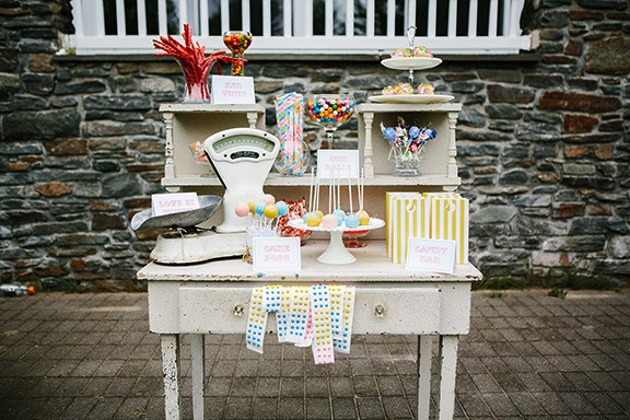Surprising Candy Tables Simply Vintage Rentals Complete Home Design Collection Barbaintelli Responsecom